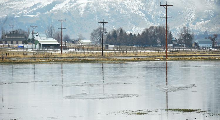 Above: 2018 spring flooding near Rexburg Idaho, near Lark's Meadows Farm, the site of our Symposium Farm Tour. Below: Joshua Faulkner
