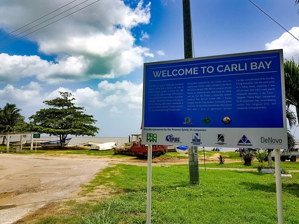 The Carli Bay fishing village is located in Couva, Trinidad.  Photo by Lawrence Jason Arjoon.