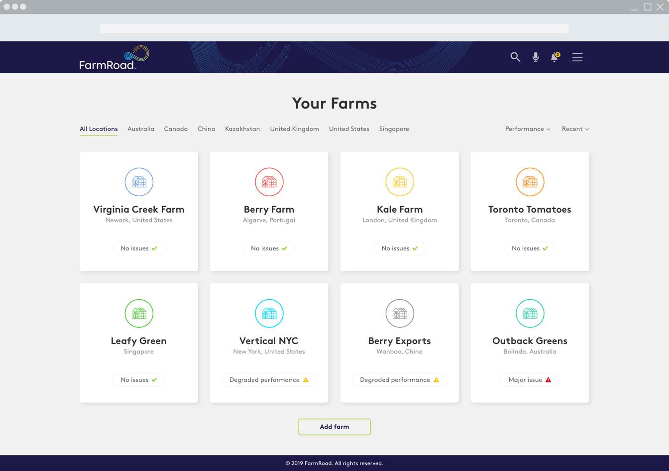 FarmRoad farm management software