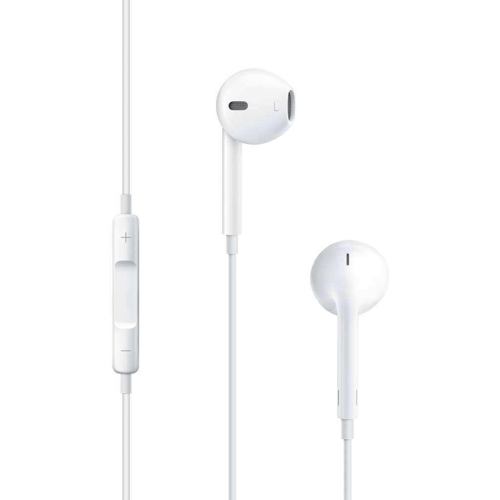 Apple EarPods actually have a microphone that sounds better than any bluetooth or wired headset when used properly.    Click HERE for Marcus' podcasting equipment recommendations.