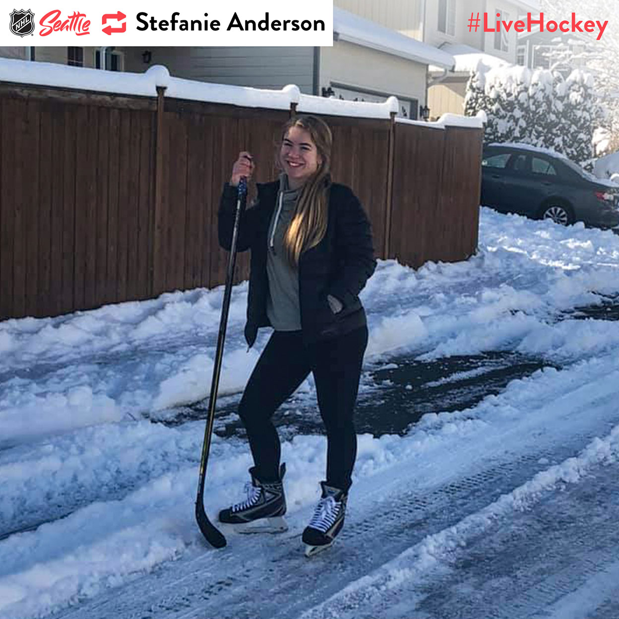 """""""Plays for the Washington Wild when she's not skating in the streets."""""""