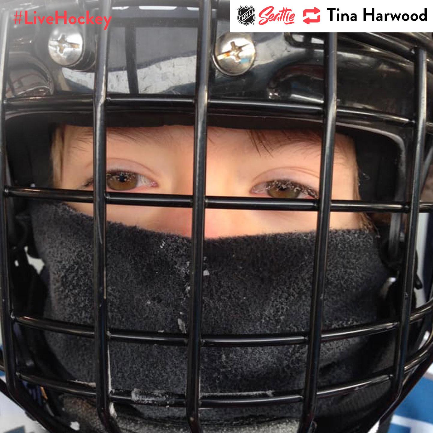 """Playing Hockey in -1 F in Moses Lake, WA 👊 🏒 🥅 #Live Hockey"""