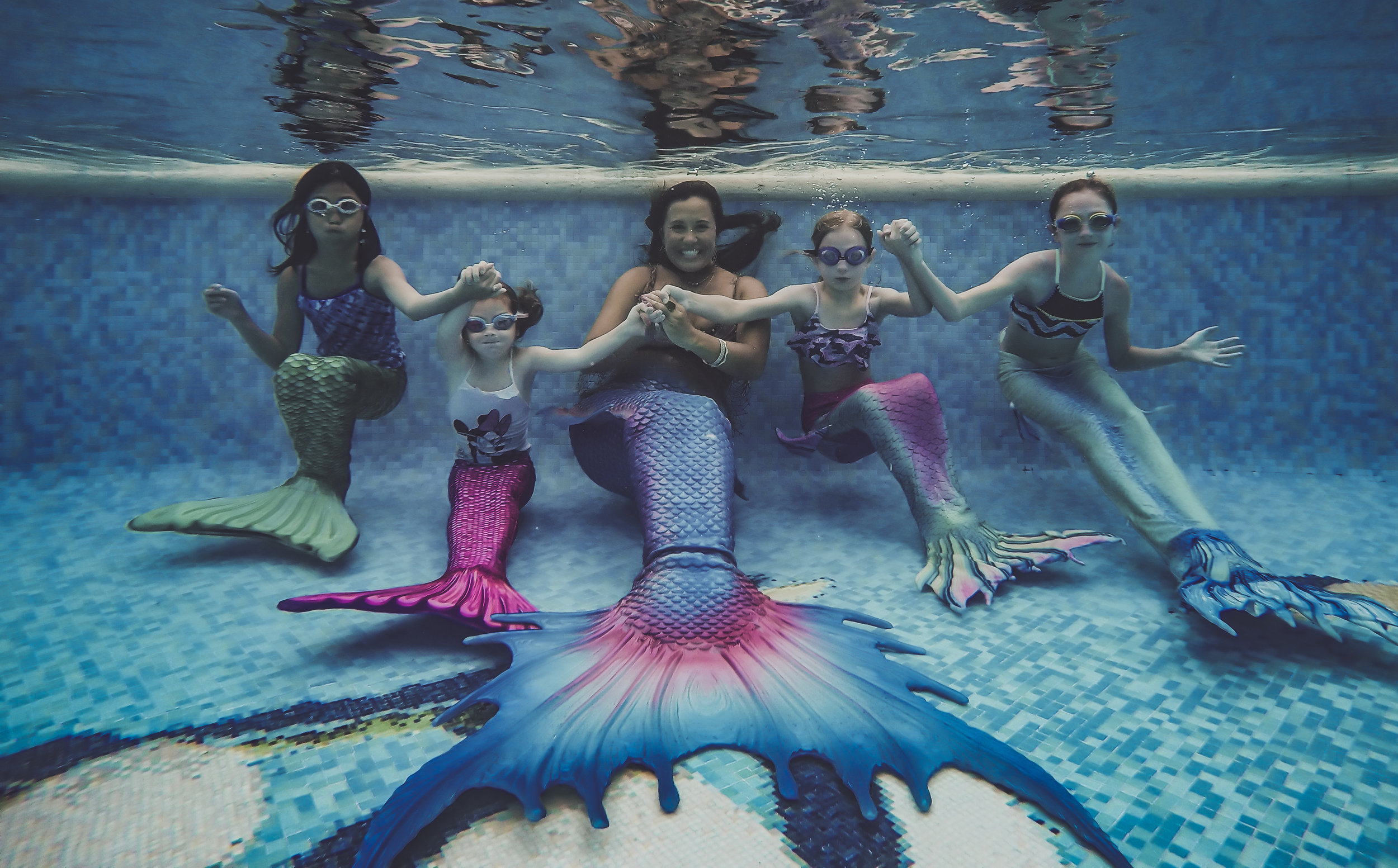 Explore your inner mermaid! - Our Mermaid Pool Adventures are designed for children age 4 and up - and are sure to be the hit of their vacation!