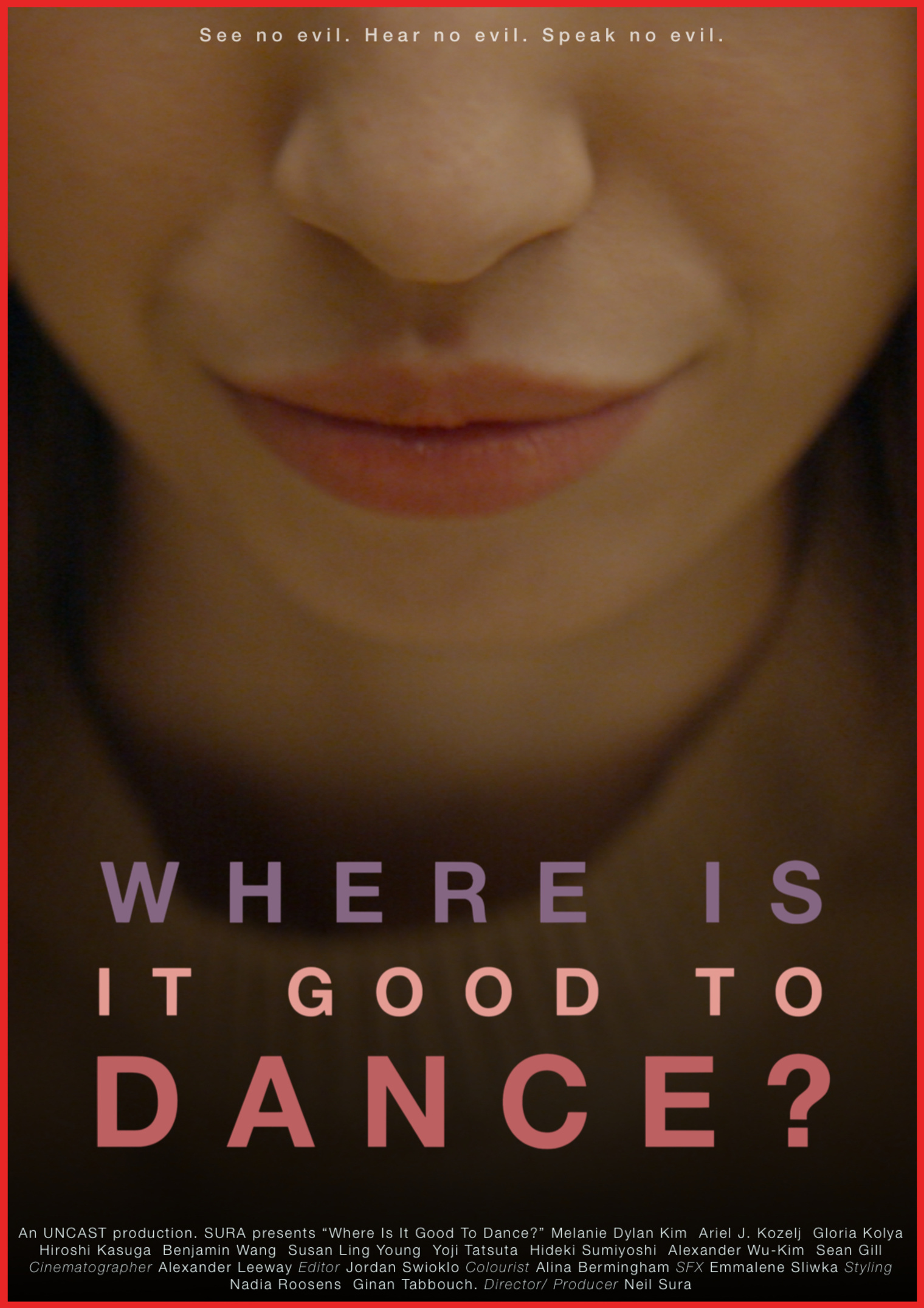 Where Is It Good To Dance Poster