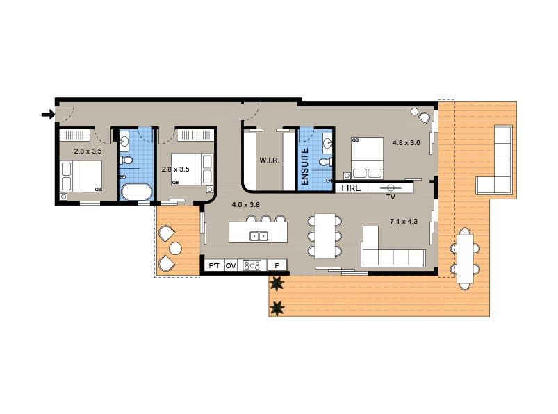 Beachfront Suite Tamarama. Bondi Beach Holiday Homes22.jpg