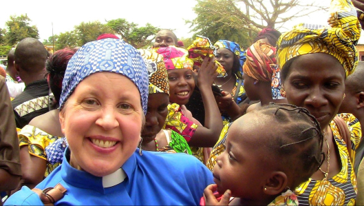 Missionary Pastor Elisabeth Johnson serving at the Meiganga Institute of Theology in Cameroon, Africa.