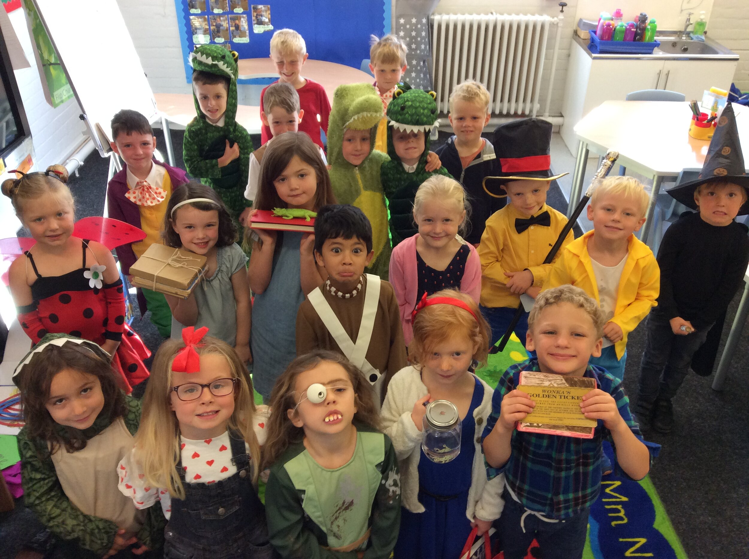 Scrumptious fun on Roald Dahl Day 2019