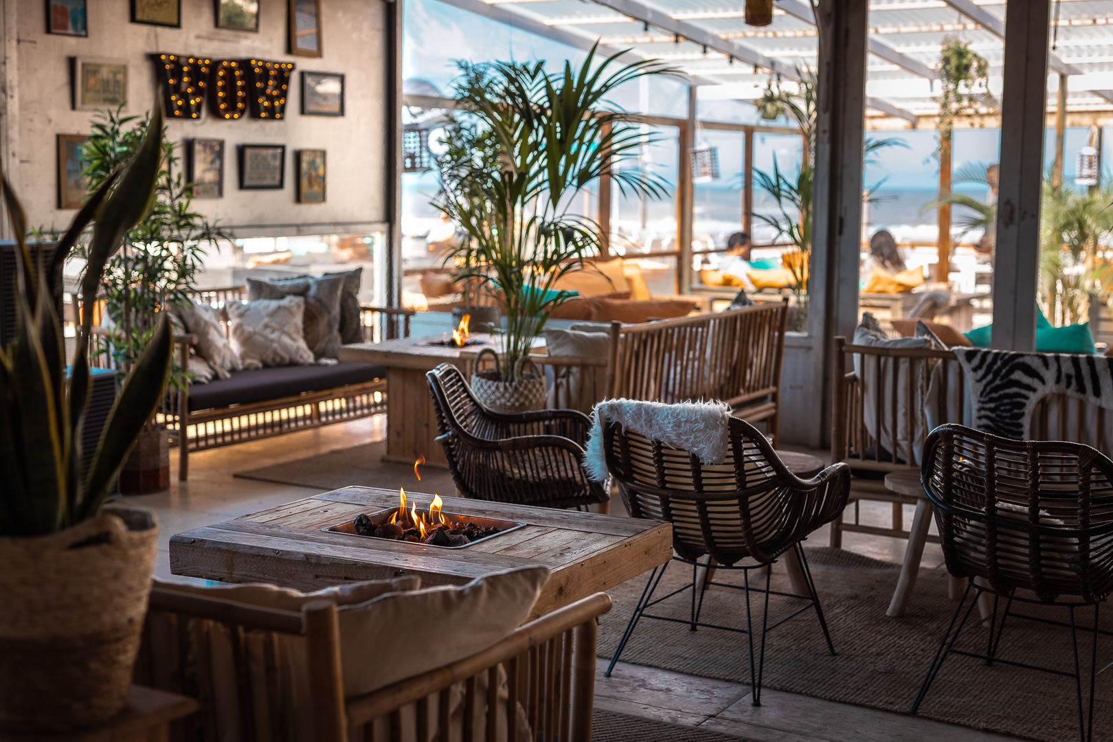 Restaurant photographer - Kamile Kave - Interior of the Beachclub.jpg
