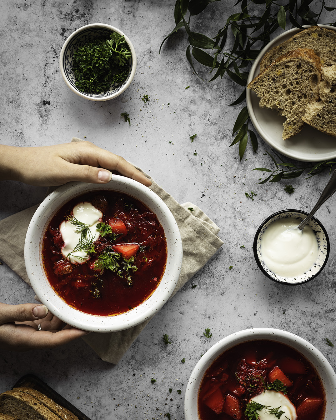 Recipe Photography - Kamile Kave - Lithuanian Beetroot Soup Photo.jpg