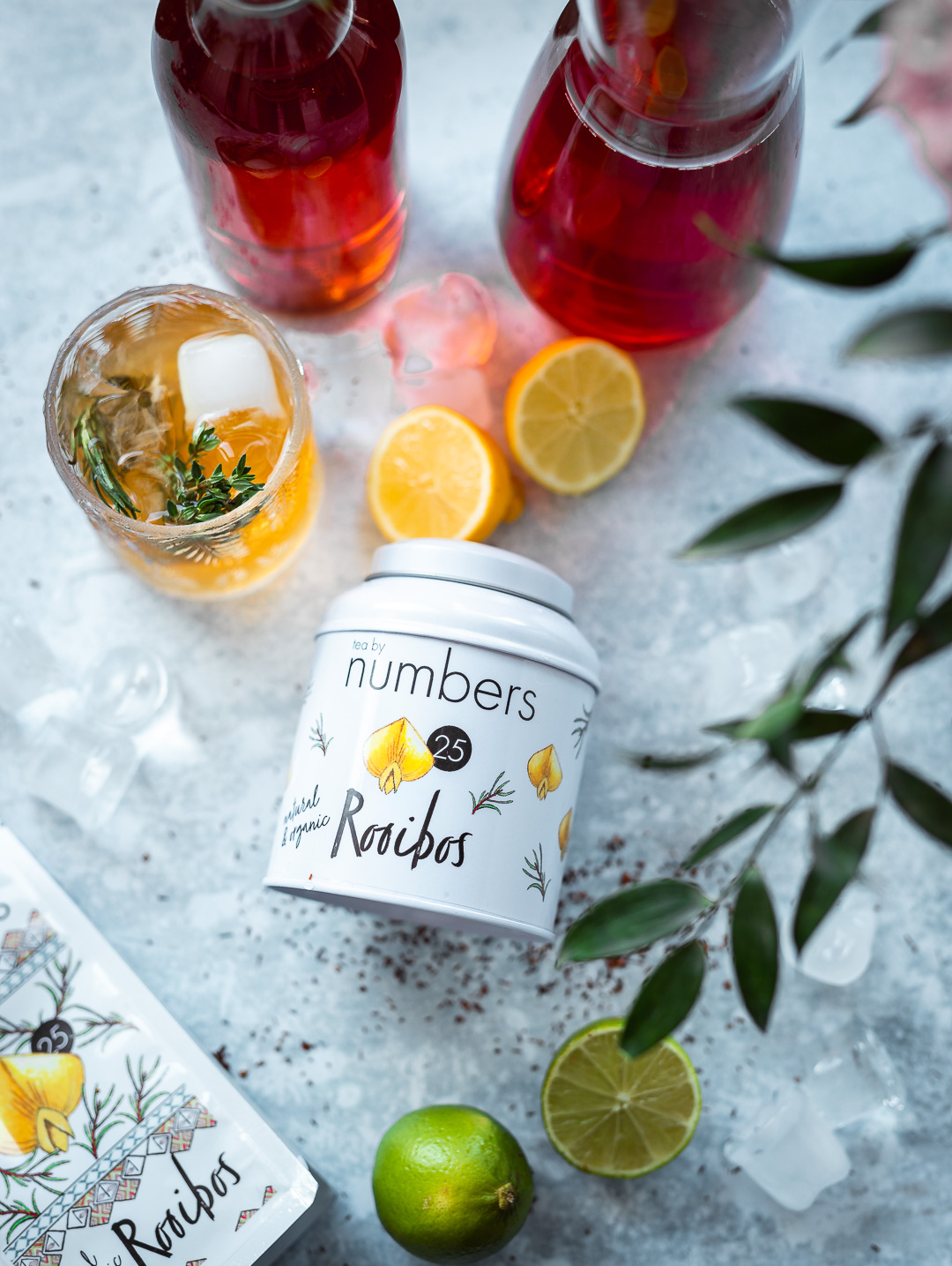 Food Product Photography - Kamile Kave - Ice Tea Rooibos Tea By Numbers .jpg