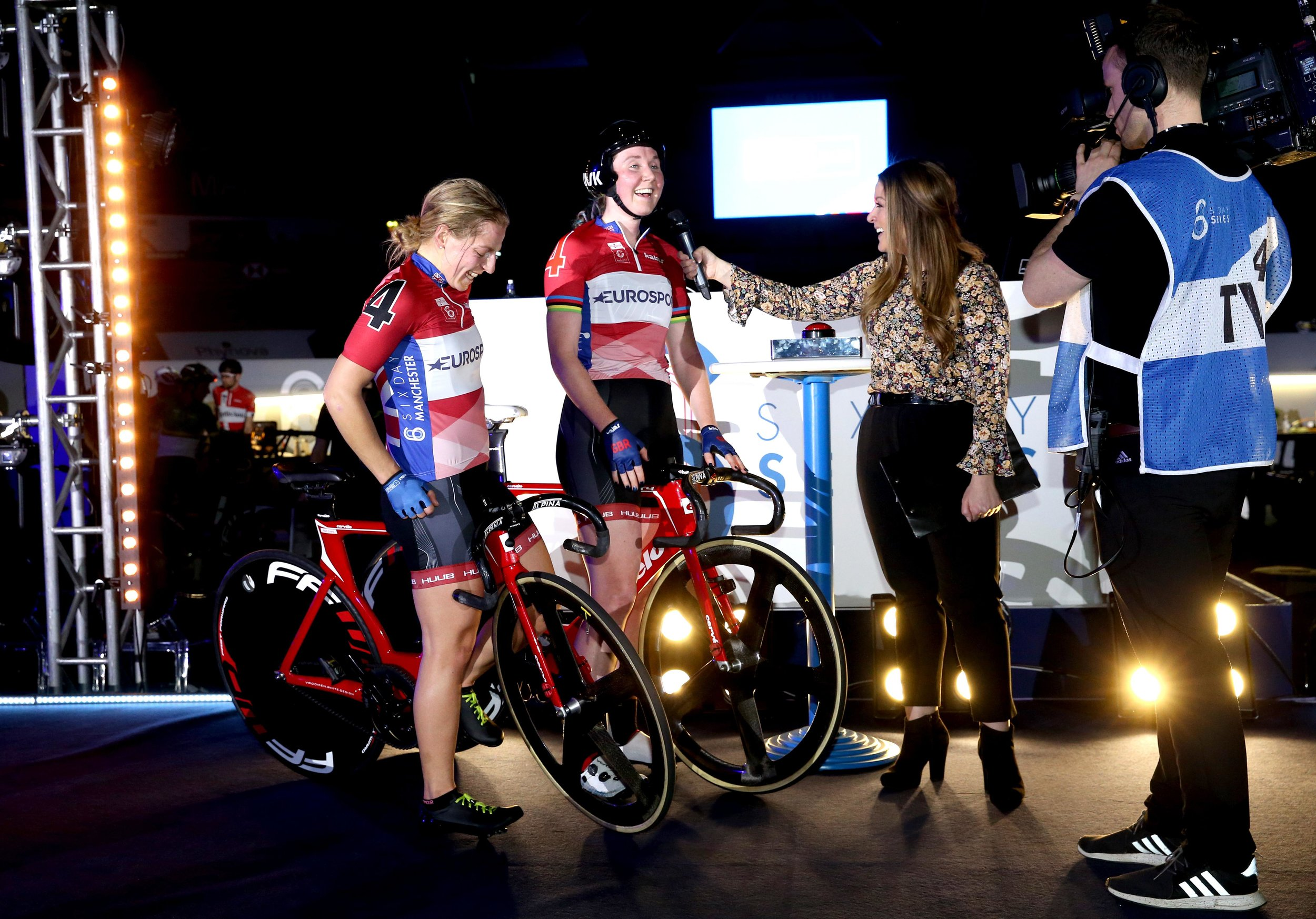 Hosting Six Day Manchester, 2019