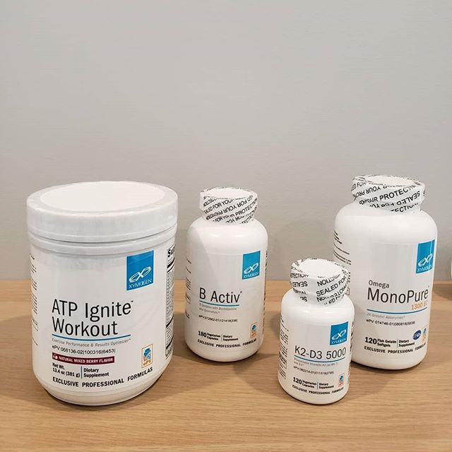 Supplements can be one of the cornerstones in a well rounded health plan.  Our detailed labs and in depth consultations provide insight into any deficiencies you may have.  With this information we are able to provide high quality, lab tested supplements from @xymogen and @hempmedspx in addition to our cutting edge treatments.  Give our office a call to find out if these supplements can help you optimize your health.