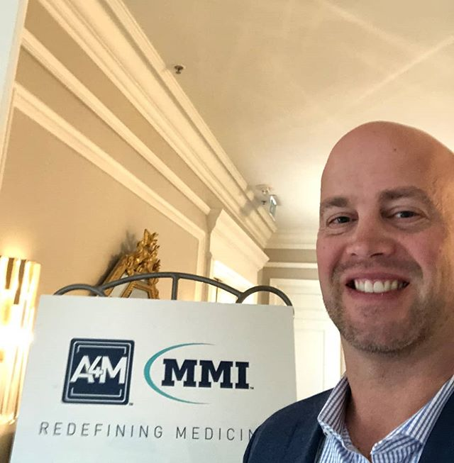 The quest to bring you the latest in cutting edge medicine and treatment continues!  Dr. Anderson is at @redefiningmedicine workshops today getting advanced education on new procedures and collaborating with other physicians from around the globe.