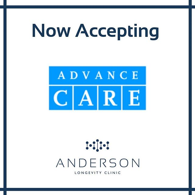 We want to give everyone the opportunity to experience the future of healthcare and we're now accepting the Advance Care card. Spread your payment out over time while getting the treatment you desire when you need it.  They offer 6 or 12 month interest free financing on many services. Visit advancecarecard.com for more information.