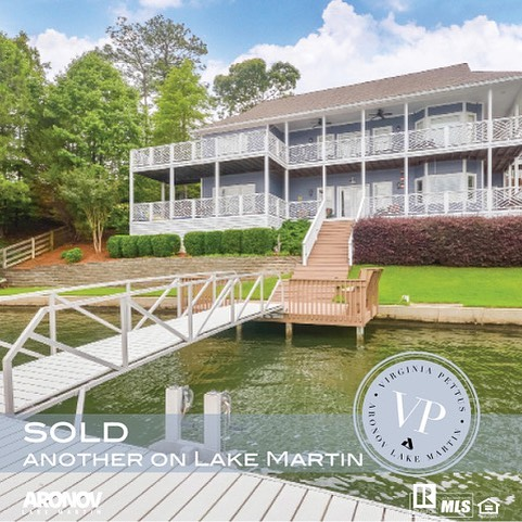 Ready to sell your Lake Martin home?? Call me for a free consultation and home valuation. . Virginia Pettus, Broker/REALTOR Aronov Realty Lake Martin . #lakemartin #aronov #lakehomes #lakelife #virginiapettus