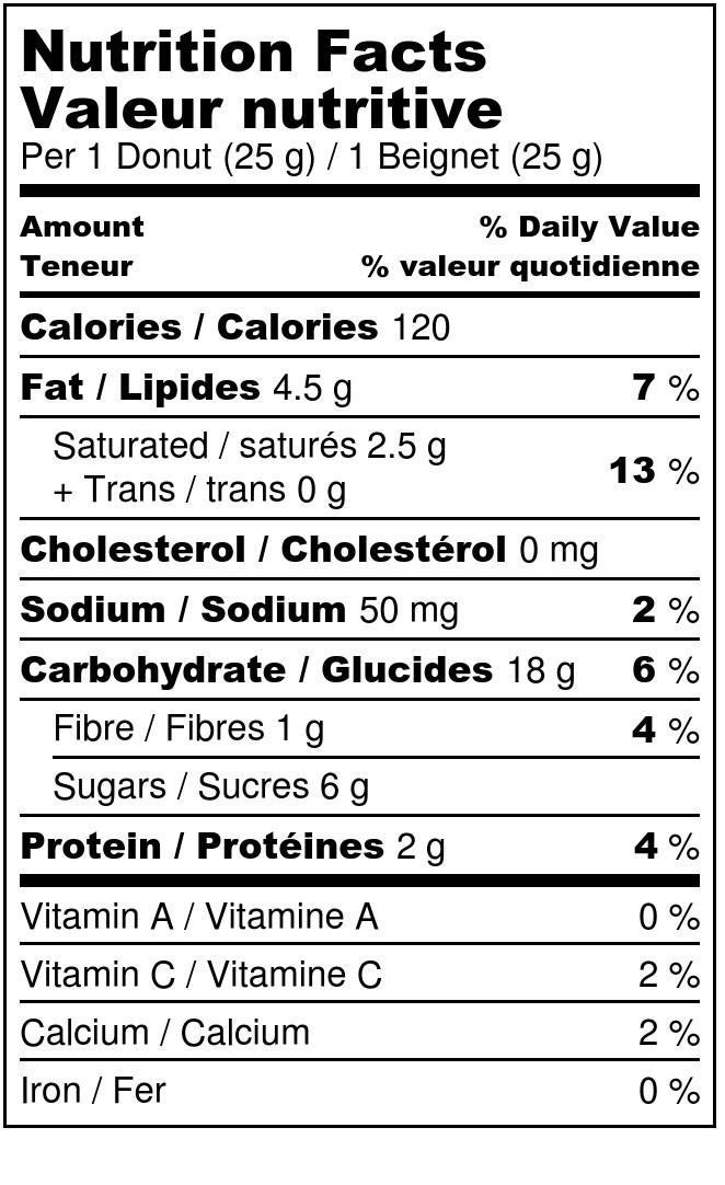 Banana donut - Nutrition Label.jpg