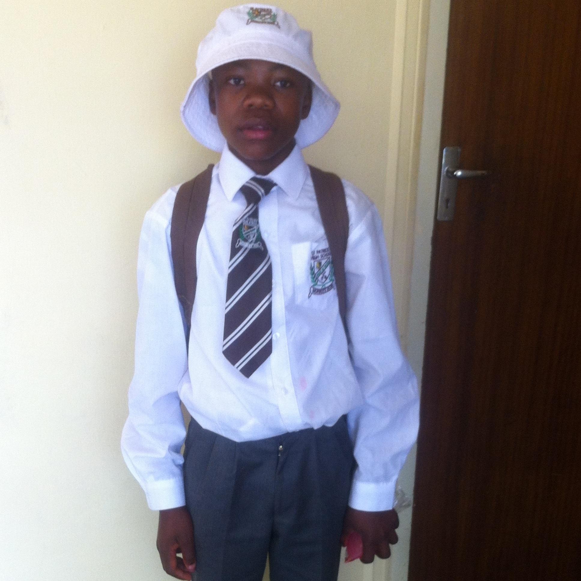 Sponsored student Bakuena.