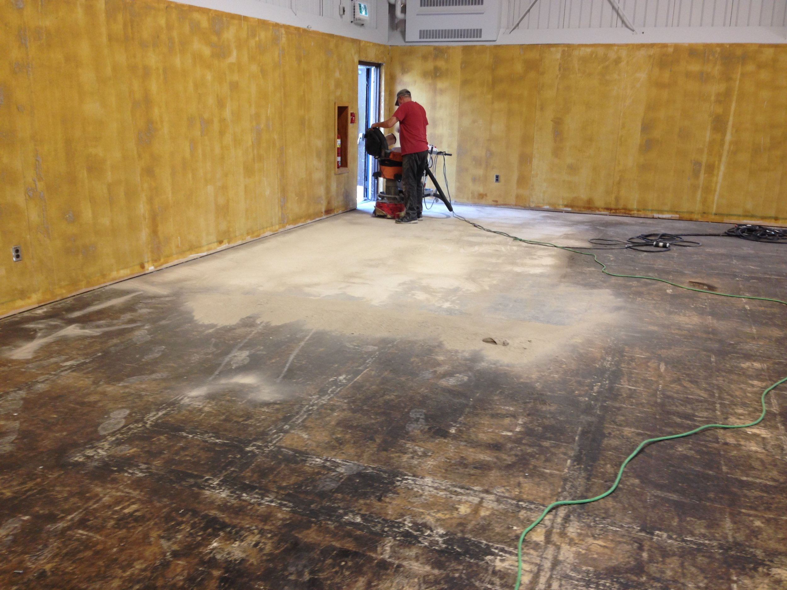 2- Removing Tile Glue.JPG