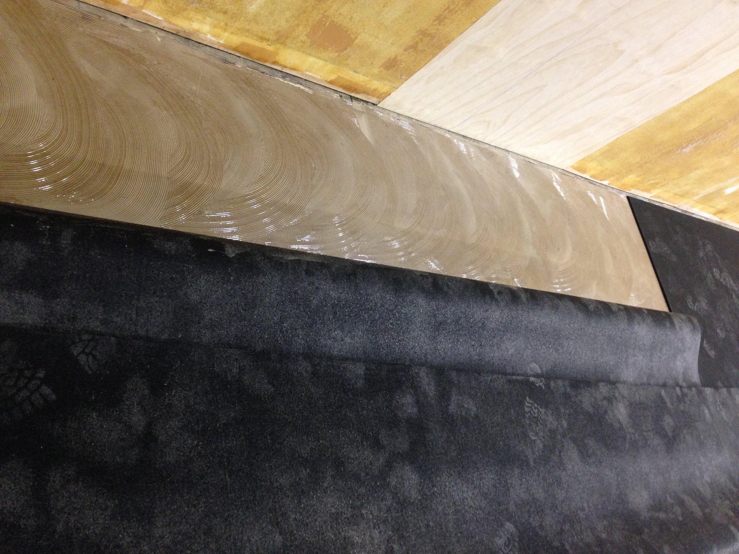 12- Glue down the Rubber Mat.JPG