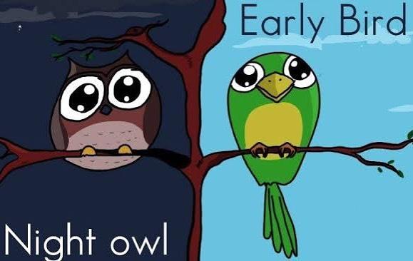 どんな生活をしてますか?もしあなたが Night owl だったら、Early bird になりたいですか?それかそうじゃないですか? #discussion #debate #learningenglish #英会話 #abcenglishschool  https://medium.com/@alternativedoubt/night-owl-to-early-bird-why-98700a43063f
