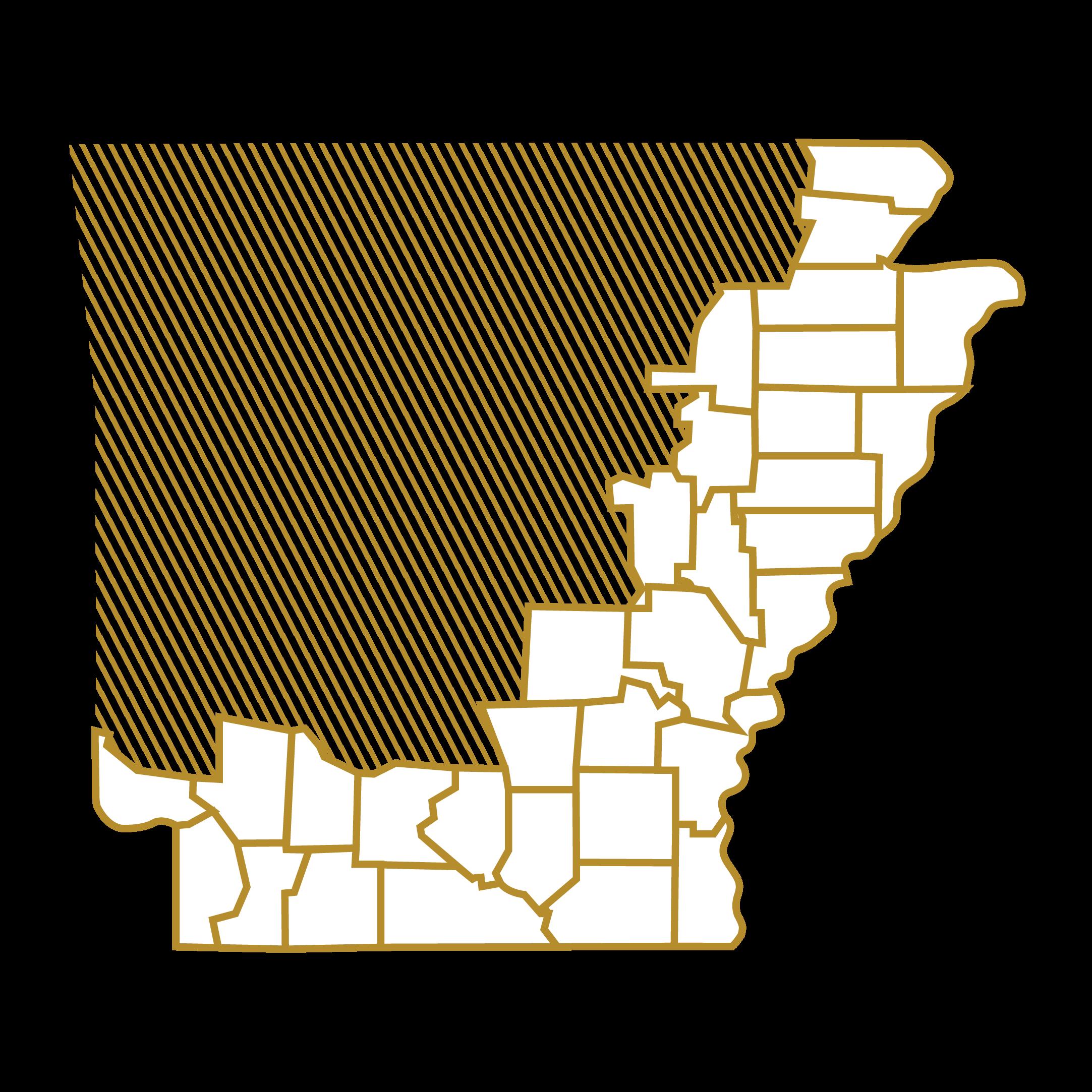 Arkansas County Maps