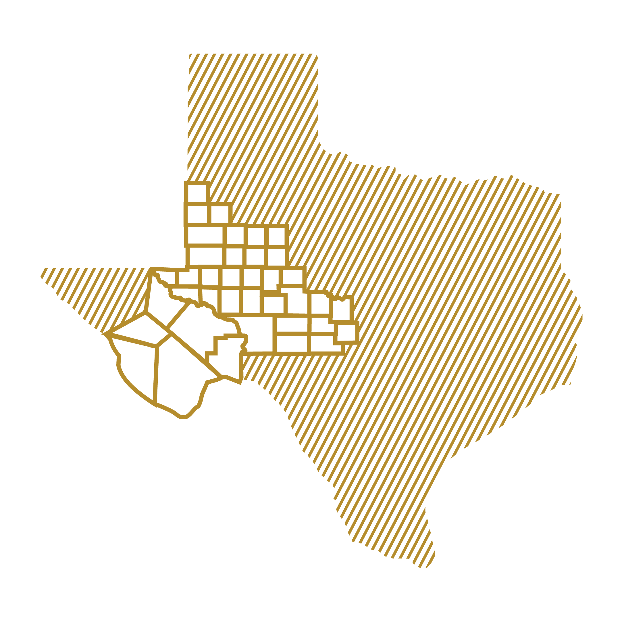 West Texas County Maps