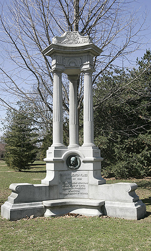 Flagg Memorial  Restored 2012