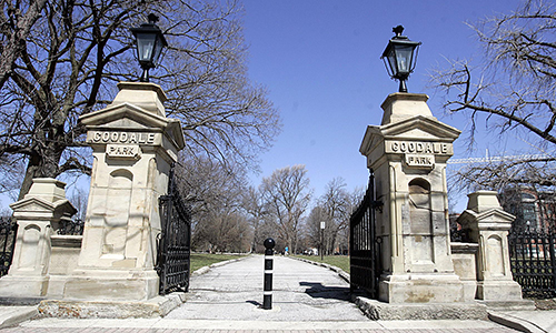 South Gates (Oldest Park Feature)  Restored in 2014