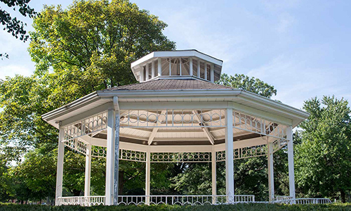 Goodale Park Gazebo - 1997  Restored TBD