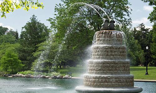 Goodale Park Fountain - 2013  Restored 2019