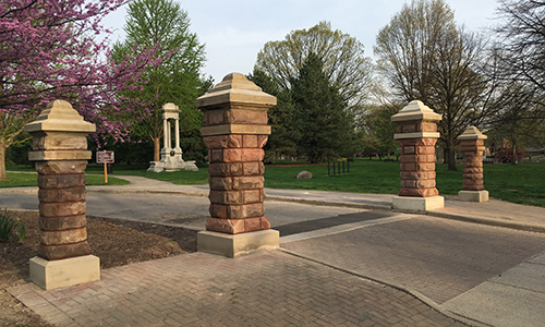 Park Street Gates  Restored 2018