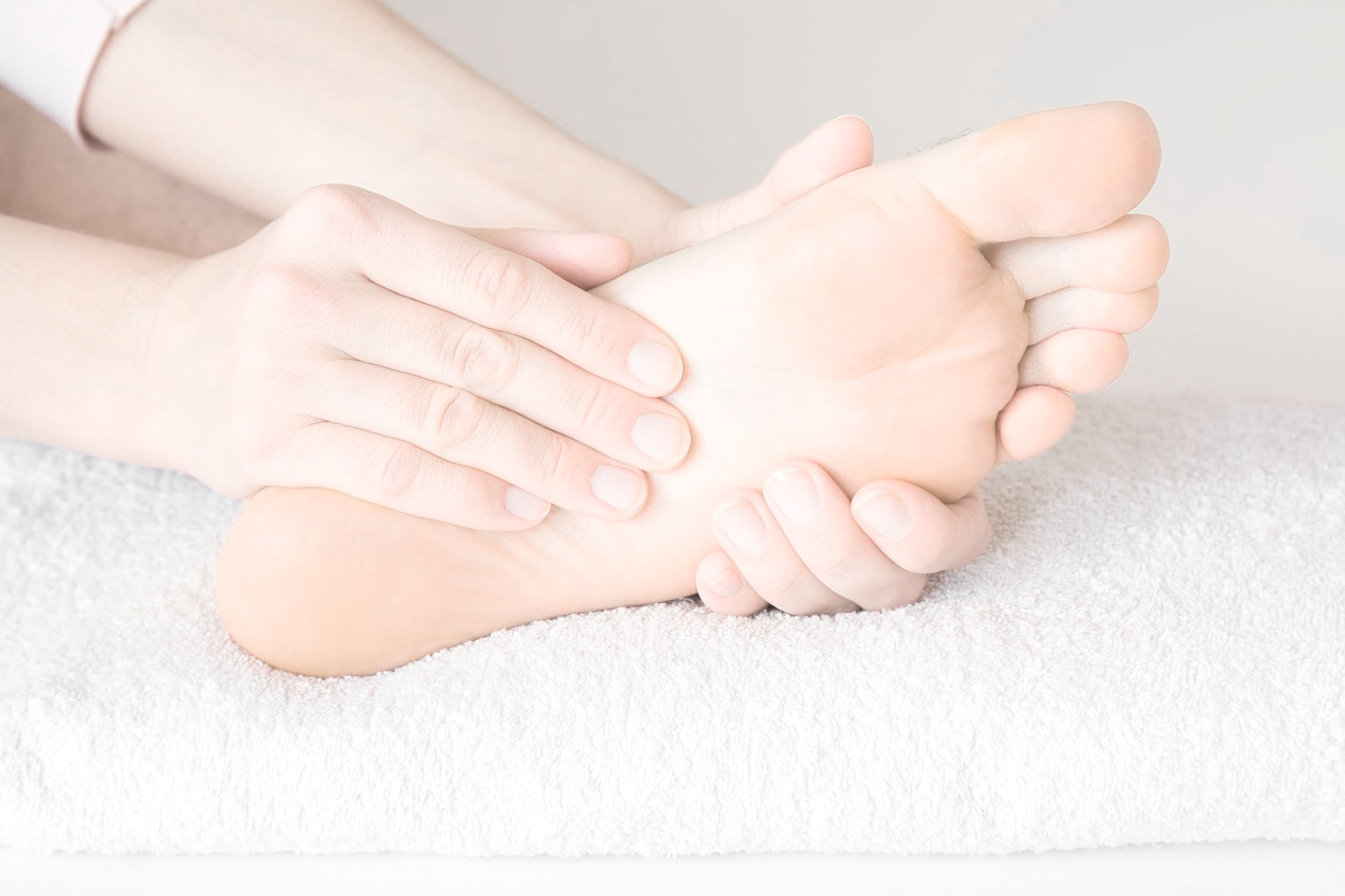 Image of peripheral neuropathic pain in foot, which can be treated as part of chiropractic care, Little Rock.