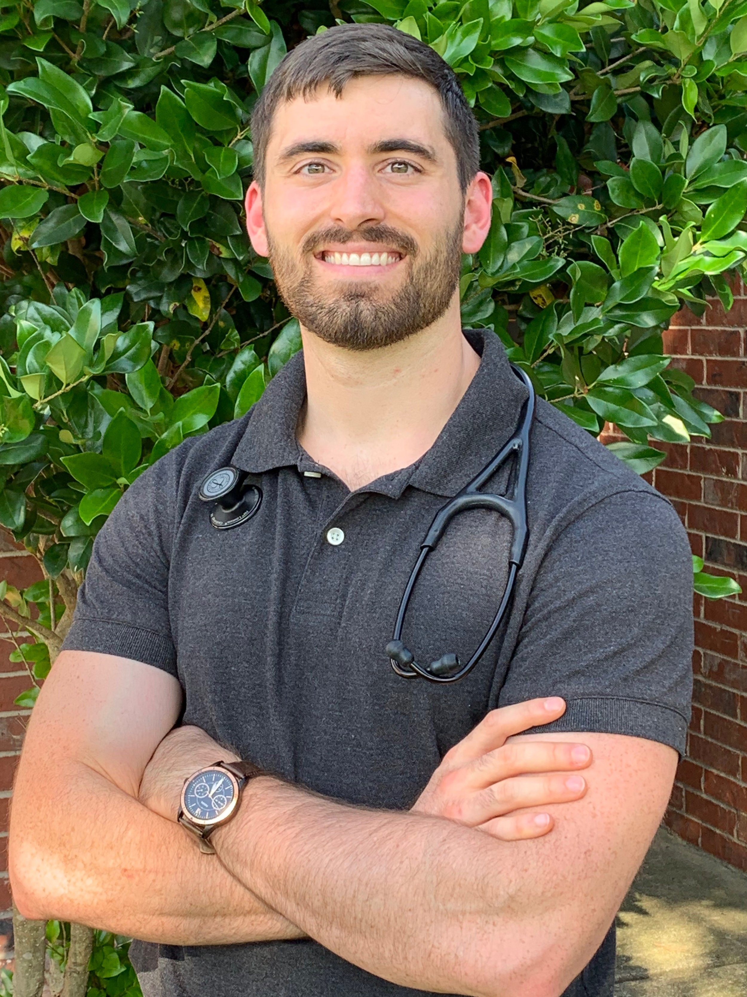 Nurse Practitioner Heath Houtchens, NSHC chiropractic clinic.