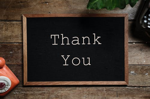 We appreciate you… - Thank you, to our wonderful & loyal clients for allowing us to serve you.