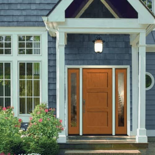Home Door Installation - Choose from the top of the line Cascade or Millard door brands. Advanced Energy is available to provide you with efficient and professional door replacement services. Get started today!