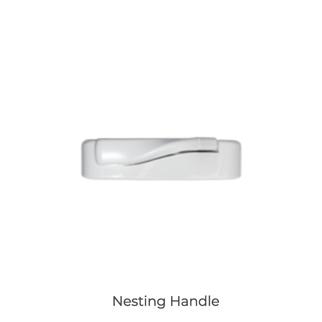 cascade nesting handle