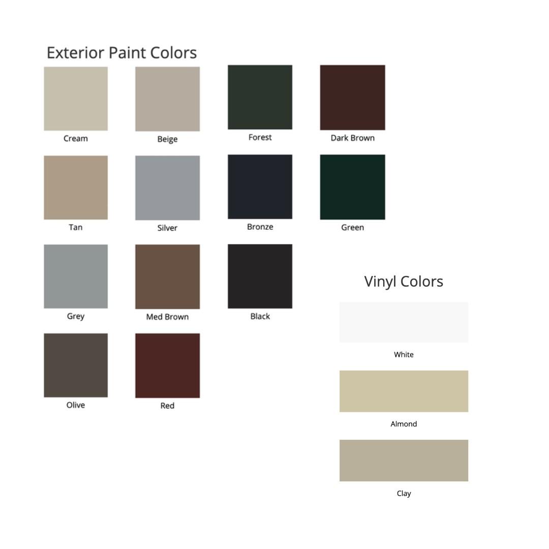 cascade exterior and interior color options