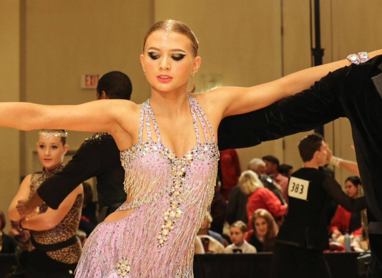 Latin and Ballroom Dance Makeup -