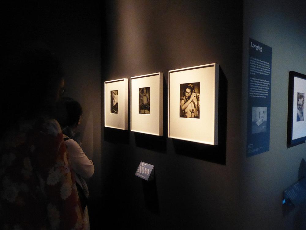 Exhibition view, Victoria & Albert Museum, photograph by Birgitta Huse