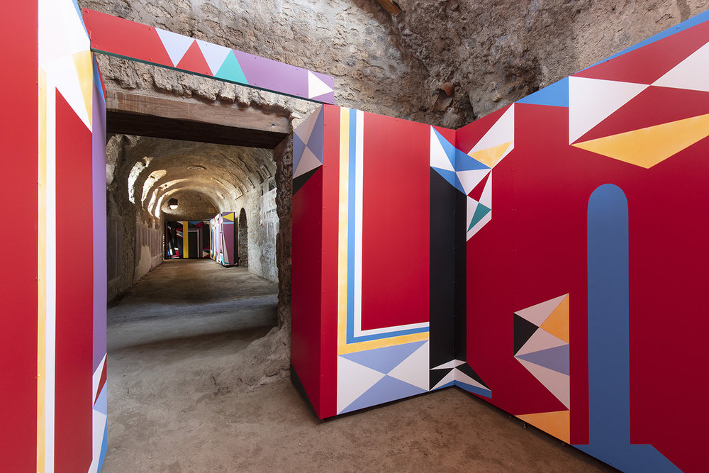 Installations Expanded Interiors at Pompeii - photo Amedeo Benestante