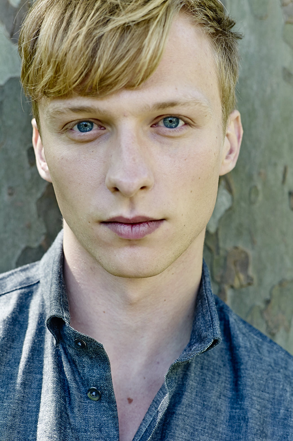 Will Tudor wears shirt by  Richard James