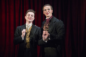 Tobias Charles and Kieran Parrott, as Fanny and Stella, Above The Stag Theatre, PBGstudios