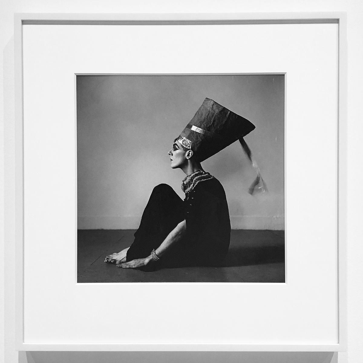 Peter Hujar, 1979, Ethyl Reichberger as Nefertiti (III)