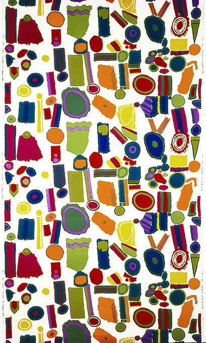 Zandra Rhodes Top Brass Print, C.1964