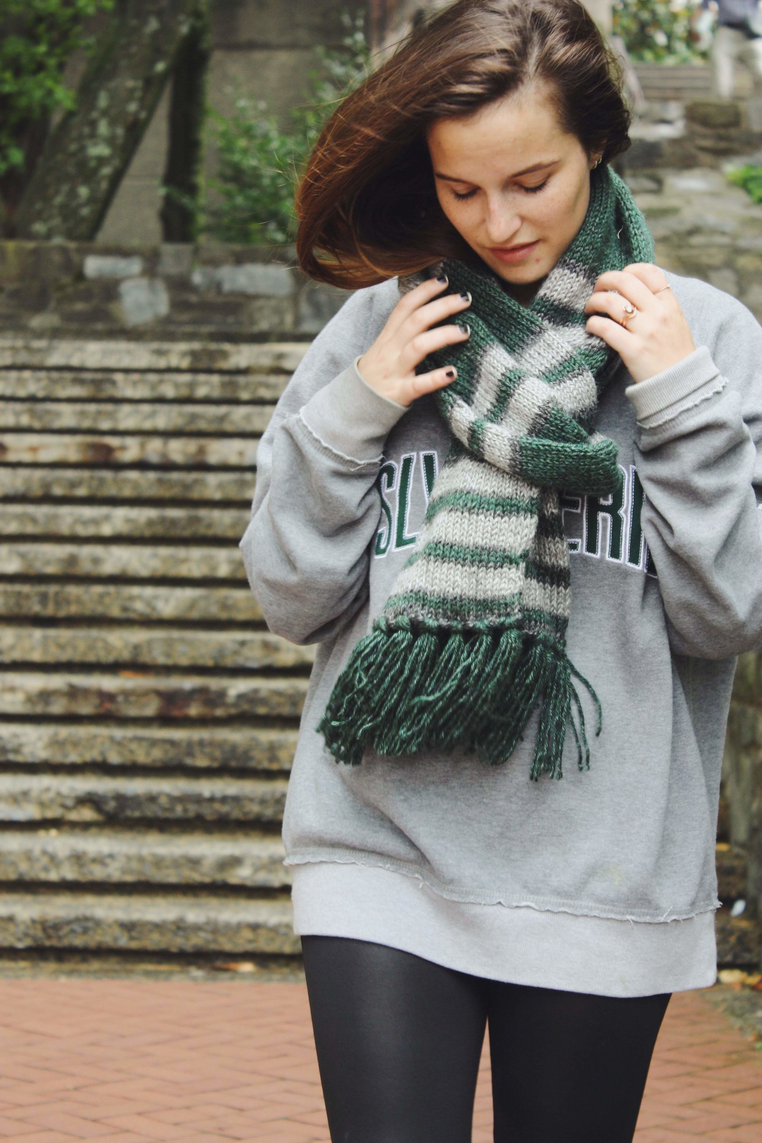 A Cursed Scarf - Free Harry Potter Knitting Pattern