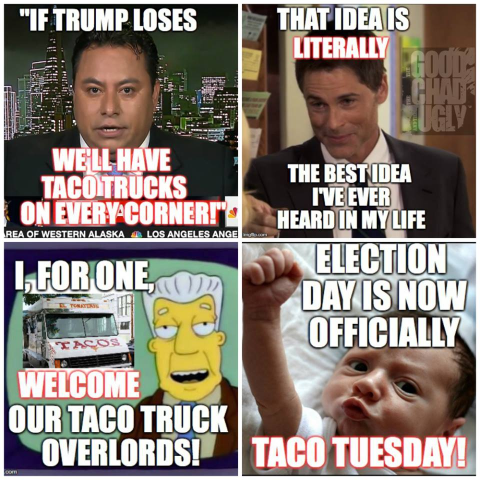 tacos on every corner meme