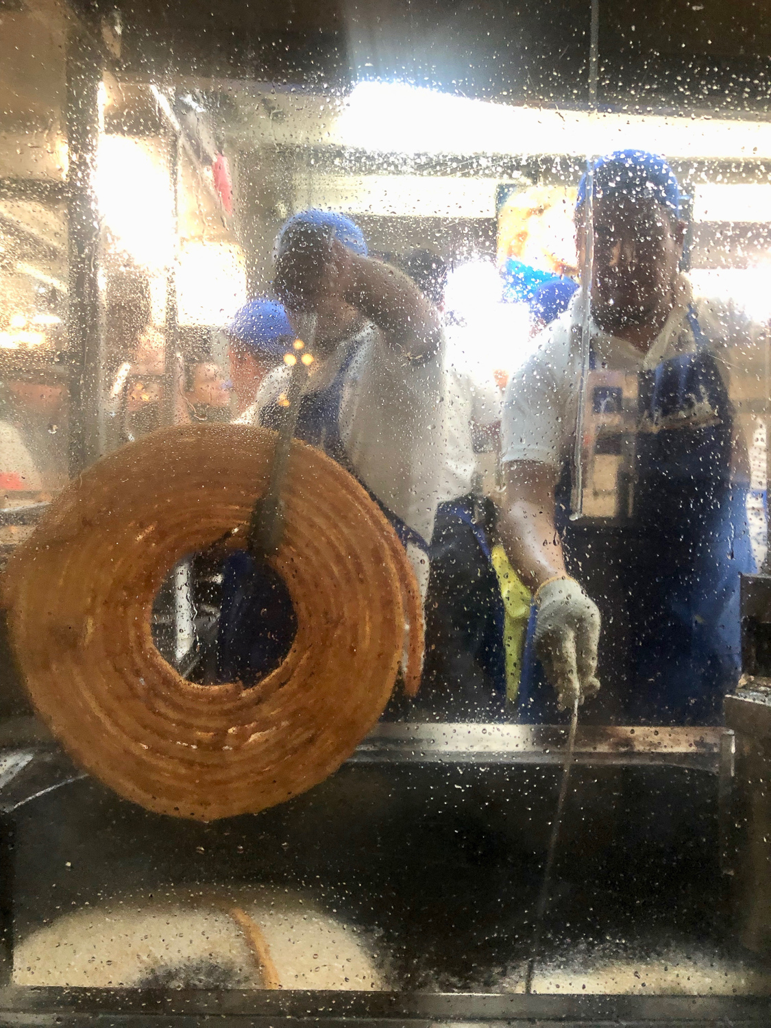 I'll formally end my post with a haiku to share an unexpected finding.  Churros are so good.  Not all churros are the same.  Some come from circles.