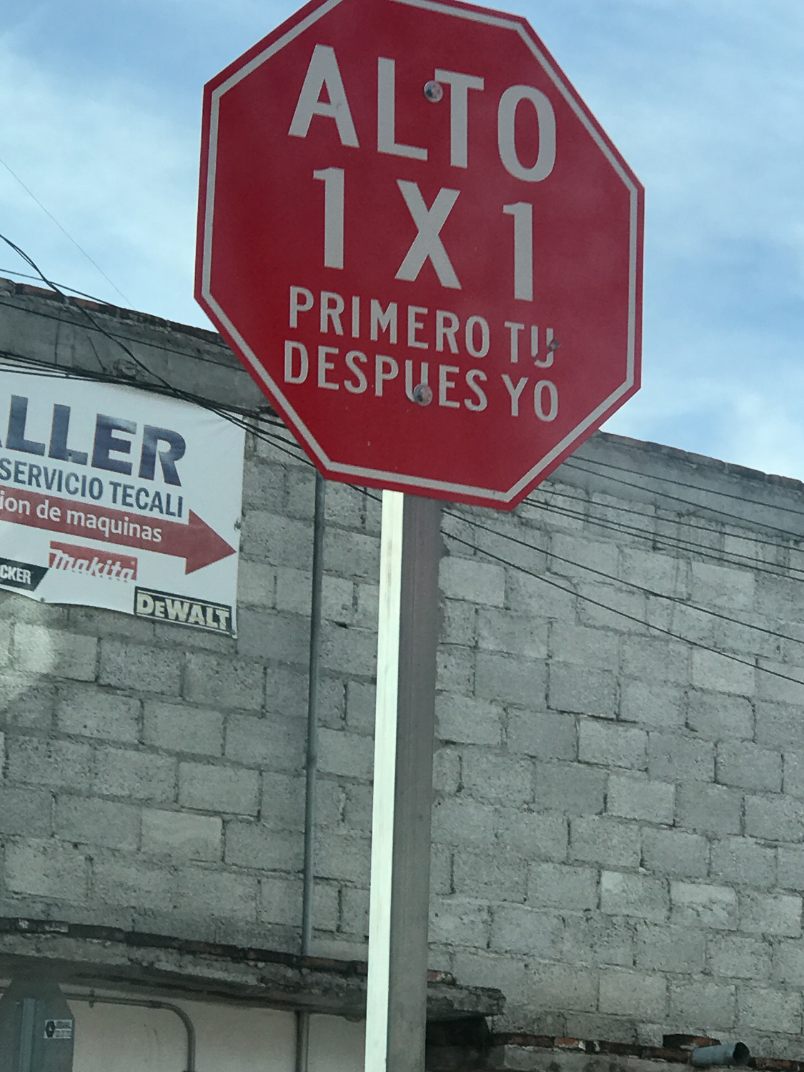 These stop signs in Cholula were a reminder that it doesn't take much for pedestrians to be placed at the center of design and planning. They read STOP, first you and then me (others said first the pedestrian). Doesn't that just have a nice ring to it? As a member of the  LA Walks  advisory board, a pedestrian advocacy organization, I thought of the organizing efforts underway to ensure communities color have safe and comfortable sidewalks and that crash fatalities are eliminated. The sidewalks are unique spaces that have an opportunity to marry storefronts, pedestrians, and street vendors to foster a sense of community.