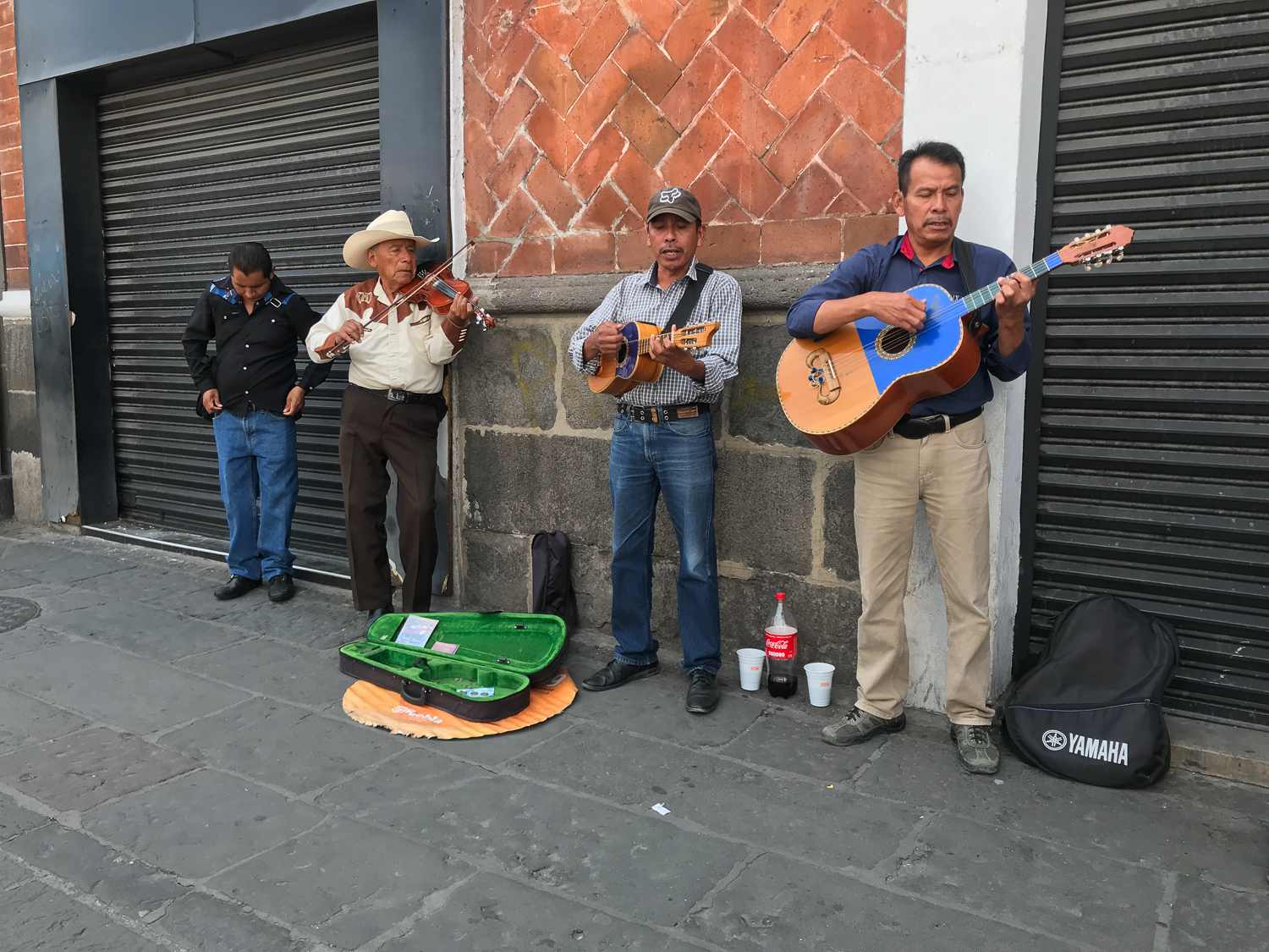 As such was the case with these musicians who would be a rare find in Los Angeles. Rudy and I were having our weekly check-in on a walk in Puebla and came across this trio. The violinist captured my attention! He has a strong resemblance to one of our Semi'a Fund clients, Juan who owns and operates a small corner store in South Central LA. From the day I first met Juan, he's had an image of his store that included fresh paint, a juicing station, a nice selection of produce, and robust inventory. With support from the Freshworks Fund, Emma's Market will soon be rocking a new refrigerator to hold produce! LA Food Policy Council was instrumental in securing a point-of-sale system to support the introduction of technology into the business. The team at IAC and LAFPC will continue to work together to support the execution of this vision.