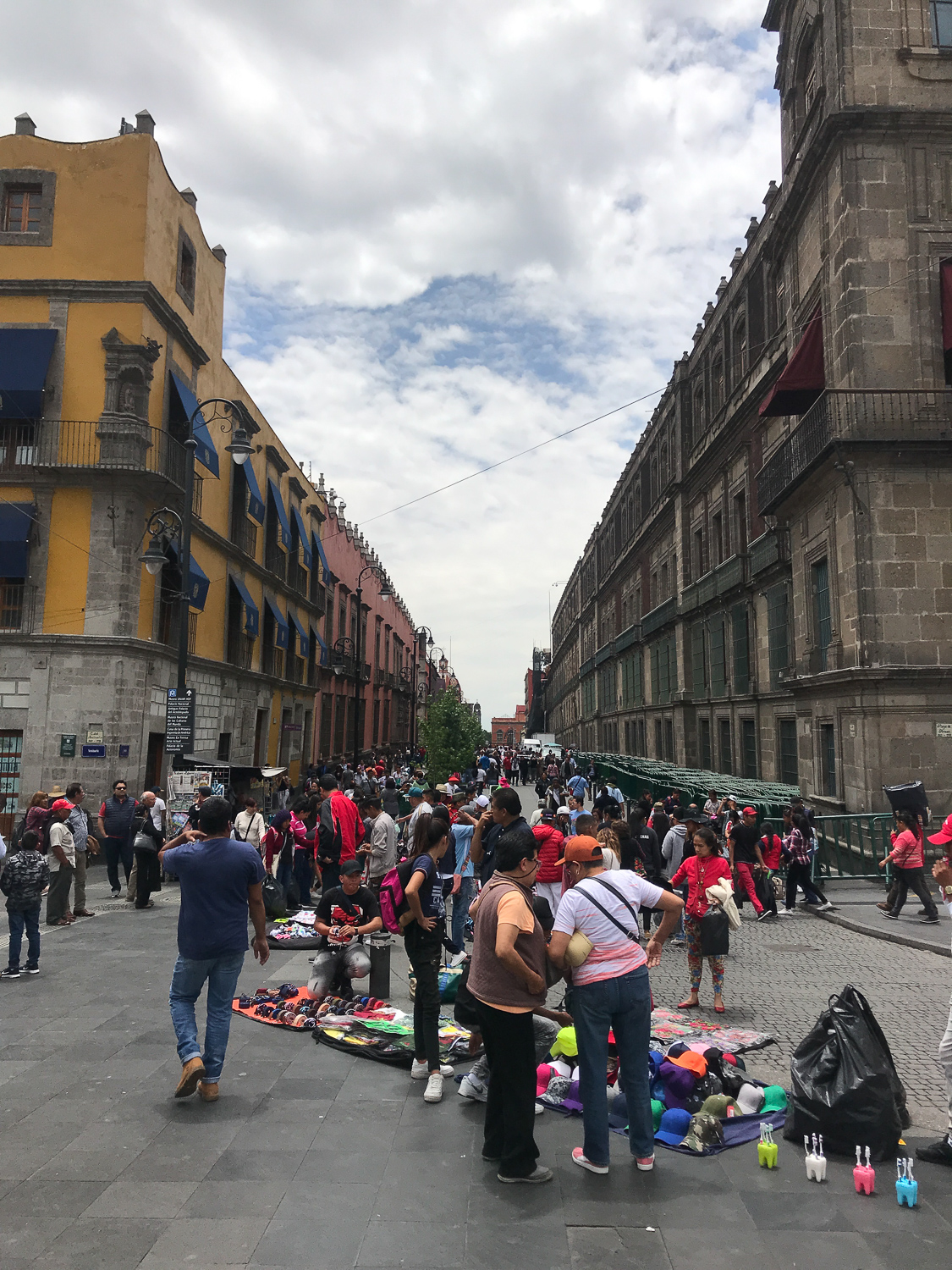 Public spaces were also thriving with vendors. In Mexico City, for example, certain streets were designated for vending (similar to an idea floated in Los Angeles to create special vending districts).